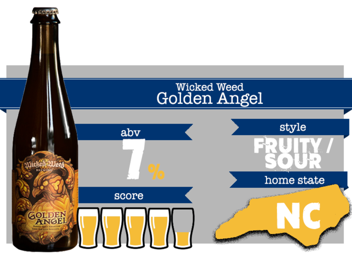 May Beer - Wicked Weed Golden Angel