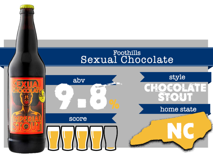 November Beer - Foothills Sexual Chocolate