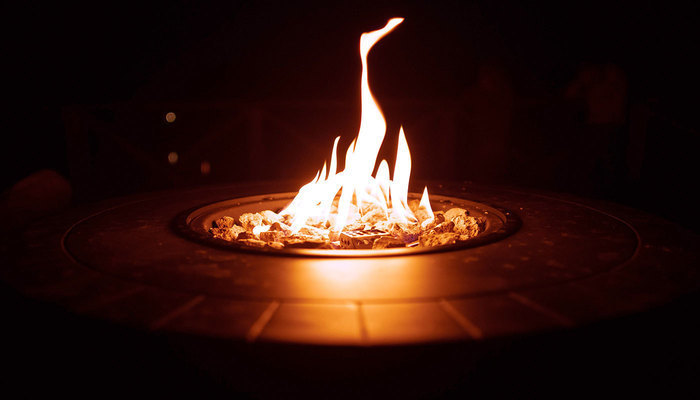 Image for Warm Up Your Patio With A Fire Pit