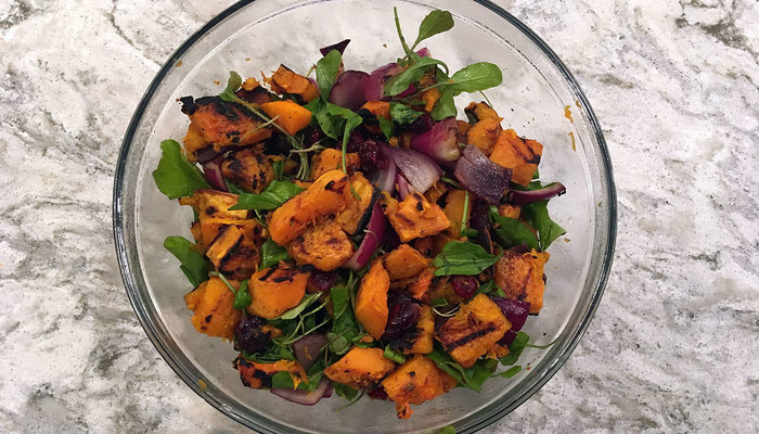 "Image for Grilled Butternut Squash ""Salad"""
