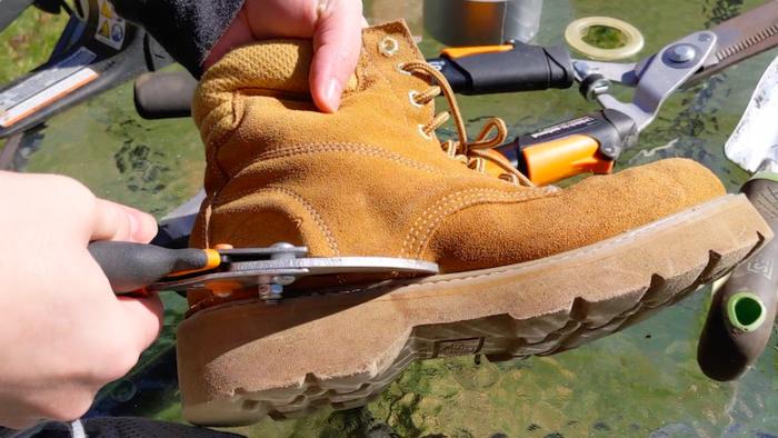 DIY Yard Shoes - Sole