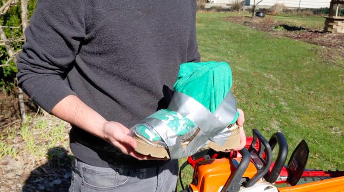 DIY Yard Shoes - Finished Product