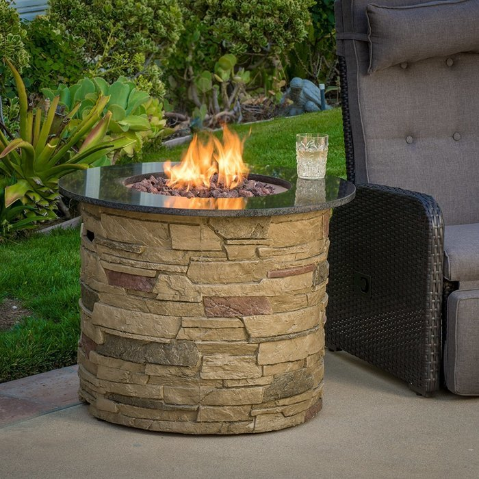 Propane Fire Pit Gift Idea