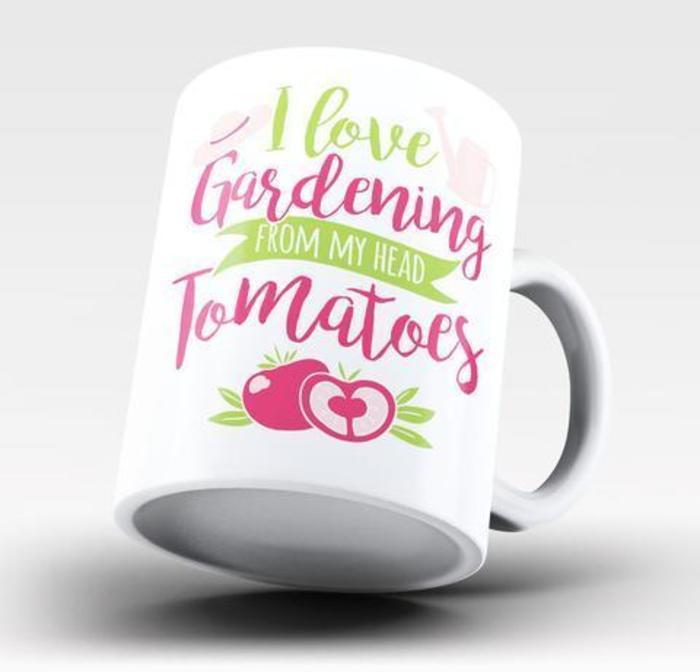 Gardening Mug Gift Idea