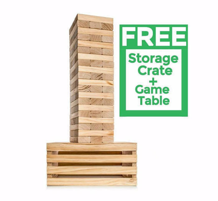 Giant Stacking Tower Game Gift Idea