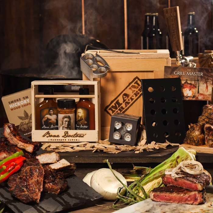 Grill Master Crate Gift Idea