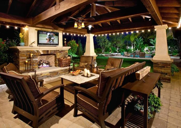 Outdoor Living Room - 2020 Backyard Trends