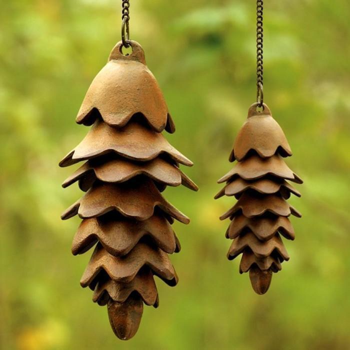 Pinecone Wind Chime Backyard Gift Idea