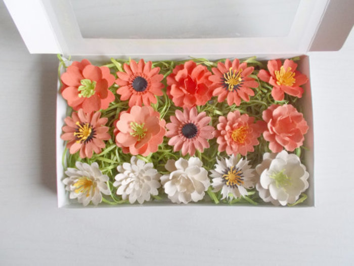 Plantable Paper Flower Garden Gift Idea